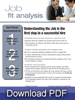 job fit analysis