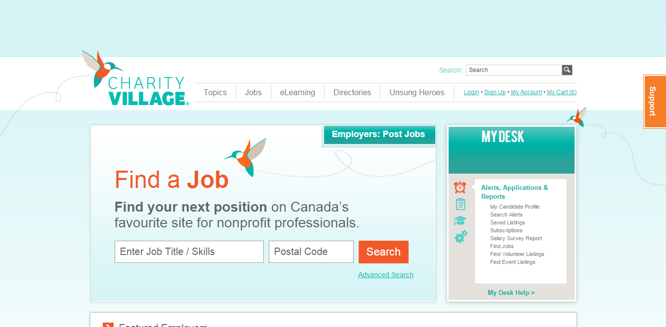Online Job Search boards for Career Transition-Career Compass Canada